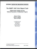 The NAEP 1997 Arts Report Card
