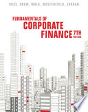 Cover of Fundamentals of Corporate Finance, Seventh Edition