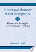 Emotional Honesty   Self Acceptance Book