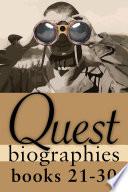 Quest Biographies Bundle Books 21 30