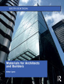 Materials for Architects and Builders Pdf/ePub eBook