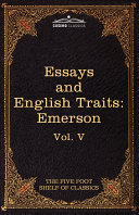 Essays and English Traits by Ralph Waldo Emerson