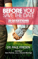Before You Save the Date