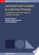 Leonhard Euler s Letters to a German Princess Book