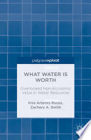 What Water Is Worth Overlooked Non Economic Value In Water Resources