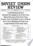 Soviet Union Review