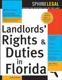 The Landlords  Rights   Duties in Florida