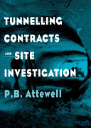 Tunnelling Contracts and Site Investigation [Pdf/ePub] eBook