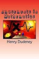 Download Amusements in Mathematics Epub