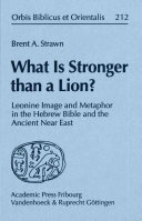 What is Stronger Than a Lion?