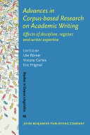 Advances in Corpus based Research on Academic Writing