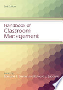Handbook of Classroom Management Book