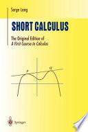 Short Calculus