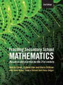Teaching Secondary School Mathematics