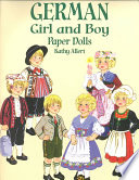 German Girl and Boy Paper Dolls
