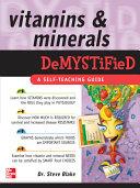 Vitamins and Minerals Demystified [Pdf/ePub] eBook