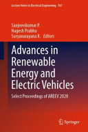 Advances in Renewable Energy and Electric Vehicles Book