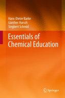 Essentials of Chemical Education [Pdf/ePub] eBook