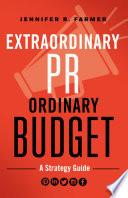 Extraordinary PR  Ordinary Budget Book