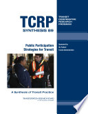 Public Participation Strategies for Transit