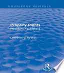 Property Rights Routledge Revivals