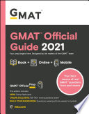 GMAT Official Guide 2021  Book   Online Question Bank and Flashcards Book