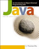 Cover of An Introduction to Object-oriented Programming with Java