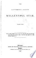 The Latter Day Saints  Millennial Star Book