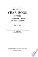 Official Year Book Of The Commonwealth Of Australia No 55 1969