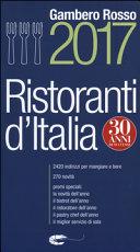 Ristoranti d'Italia del Gambero Rosso 2017