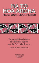 Na to Hoa Aroha, from Your Dear Friend, Volume 1 Pdf/ePub eBook