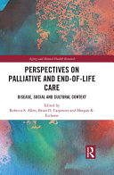 Perspectives on Palliative and End-of-Life Care Pdf/ePub eBook
