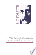The Principle Of Authority In Relation To Certainty Sanctity And Society