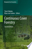 Continuous Cover Forestry