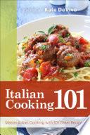 Italian Cooking 101 Book