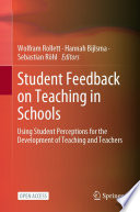 Student Feedback on Teaching in Schools