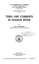 Tides and Currents in Hudson River