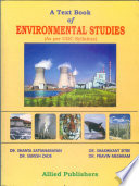 A Text Book of Environmental Studies (As per UGC Syllabus)