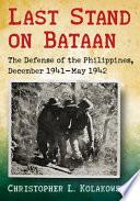 Last Stand On Bataan