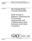 Nuclear Fuel Cycle Options Book
