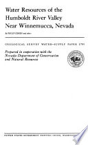Geological Survey Water supply Paper Book