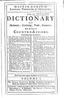 Pdf Dictionarium Rusticum, Urbanicum & Botanicum: Or, A Dictionary of Husbandry, Gardening, Trade, Commerce, and All Sorts of Country-affairs