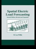 Spatial Electric Load Forecasting Pdf/ePub eBook