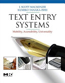 Text Entry Systems