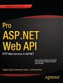 Pro ASP.NET Web API Pdf/ePub eBook