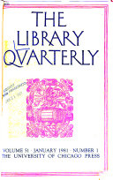 The Library Quarterly