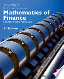 An Introduction to the Mathematics of Finance