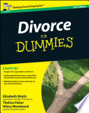 """Divorce For Dummies"" by Elizabeth Walsh, Thelma Fisher, Hilary Woodward, John Ventura, Mary Reed"