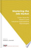 Mastering the Job Market