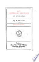 Stormfield Edition of the Writings of Mark Twain [pseud.].: The mysterious stranger